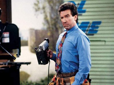 Tim Taylor, from Home Improvement, who often said 'More Power!'