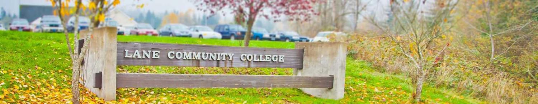 Lane Community College Sign